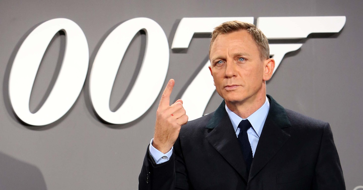 daniel craig 25 james bond